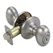 Design House 750323 Pro Egg Entry Door Knob Lockset, Satin Nickel