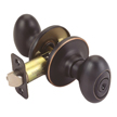 Design House 750414 Pro Egg Entry Door Knob Lockset, Oil Rubbed Bronze