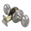 Design House 750505 Egg 2-Way Latch Entry Door Knob, Adjustable Backset
