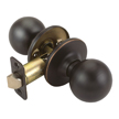 Design House Pro Ball Hall and Closet Door Knob 2-Way Adjustable, Oil Rubbed Bronze - 750661