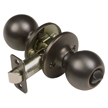 Design House Pro Ball Bed and Bath Door Knob 2-Way Adjustable, Oil Rubbed Bronze - 750679