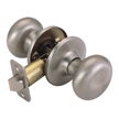 Design House 753129 Pro Cambridge Hall and Closet Door Knob, Satin Nickel