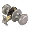 Design House Cambridge 2-Way Latch Passage Door Knob, Adjustable - 753301