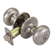 Design House Cambridge 2-Way Latch Entry Door Knob, Adjustable Backset - 753327