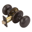 Design House Cambridge 2-Way Latch Passage Door Knob Adjustable Backset - 753442