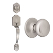 Design House Sussex 2-Way Latch Entry Door Handle Set - 753590