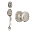 Design House Coventry 2-Way Latch Entry Door Handle Set - 754549