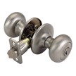 Design House 754705 Pro Cambridge Entry Door Knob Lockset, Satin Nickel