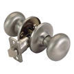 Design House 754721 Pro Cambridge Hall and Closet Door Knob, Satin Nickel