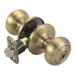 Design House 755223 Pro Cambridge Entry Door Knob, Antique Brass
