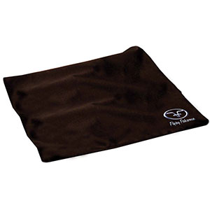 Flying Fisherman 7610 Sunglasses Cleaning Cloth, Microfiber, Black