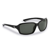 Flying Fisherman 7711BS Kili Polarized Sunglasses, Black-Gray Frames, Smoke