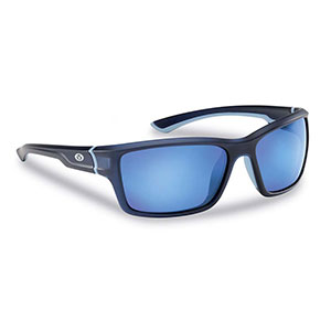 Flying Fisherman 7721NSB Cove Polarized Sunglasses, Matte Crystal Navy / Blue
