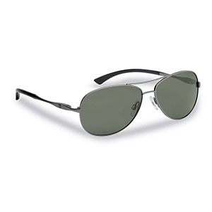 Flying Fisherman 7764GS Madeira Polarized Sunglasses, Antique Gunmetal Smoke