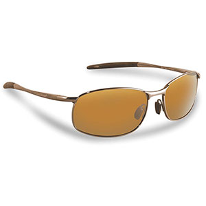 Flying Fisherman 7789CA San Jose Polarized Sunglasses, Copper / Amber