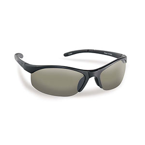 Flying Fisherman 7793BS Bristol Polarized Sunglasses, Black Frames With Smoke Lenses