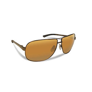 Flying Fisherman 7816CA Highlander Polarized Sunglassed, Copper Frames With Amber Lenses