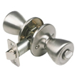 Design House Tulip 2-Way Latch Privacy Door Knob, Adjustable Backset - 781906