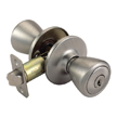 Design House 781922 Tulip 2-Way Latch Entry Door Knob, Adjustable Backset