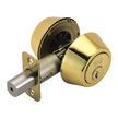 Design House Double Cylinder 2-Way Latch Deadbolt, Adjustable Backset - 782771