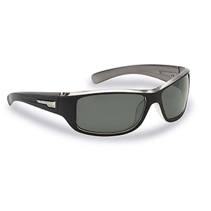 Flying Fisherman 7831BS Helm Polarized Sunglasses, Black-Crystal Gunmetal Frames, Smoke Lenses