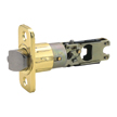 Design House 783209 Pro 6-Way Universal Entry Latch, Polished Brass