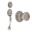 Design House Coventry 2-Way Latch Entry Handle Set with Tulip Knob - 783506
