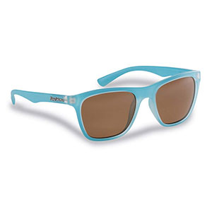 Flying Fisherman 7837AC Fowey Polarized Sunglasses, Azure Frame / Copper Lenses