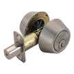 Design House Double Cylinder 2-Way Latch Deadbolt, Adjustable Backset - 783829