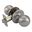Design House Pro Ball Hall and Closet Door Knob 2-Way Adjustable, Satin Nickel - 784678