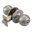 Design House 784694 Pro Ball Entry Door Knob Lockset, Satin Nickel
