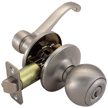 Design House 784751 Pro Scroll/Ball Entry Lever Lockset, Satin Nickel