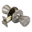 Design House Pro Tulip Hall and Closet Door Knob 2-Way Adjustable, Satin Nickel - 784793