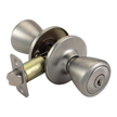 Design House Pro Tulip Entry Door Knob 2-Way Adjustable Lockset, Satin Nickel - 784819