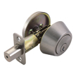 Design House 784843 Pro Single Cylinder Deadbolt, Satin Nickel