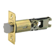 Design House Pro 2-Way Adjustable Entry Latch 2-Way Adjustable Lockset, Polished Brass - 786111