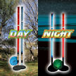 Lighted Deluxe Poles Game w/ Lighted Flying Disc and Lighted Poles, Water Sports 81071-7