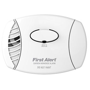 Basic Battery Operated Carbon Monoxide Alarm