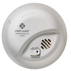 Hardwired Carbon Monoxide Alarm with Battery Back-up, CO5120BN