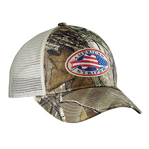 Flying Fisherman H1755 American Striper Camo Trucker Hat