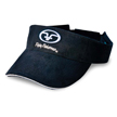 Flying Fisherman HVS1501 Microfiber Logo Visor, Black
