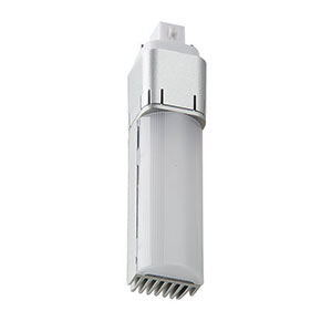 Light Efficient Design LED-7322-27K-G2 7W G24D Two Pin-Base CFL Retrofit, 2700K