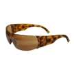 Honeywell W300 Women's Series Shooter's Safety Eyewear, Tortoise Shell Frame, Espresso Lens - R-01705