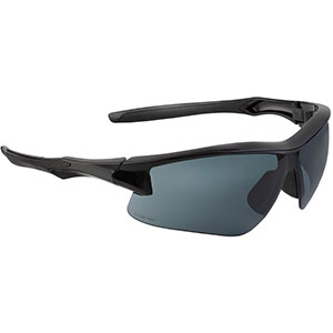 Honeywell Acadia Shooter's Safety Eyewear, Black Frame, Gray Lens with Uvextreme Plus Anti-Fog lens coating - R-02217