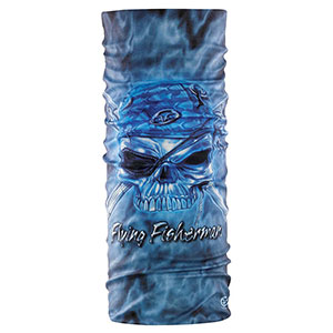 Flying Fisherman SB1662 Pirate Skull Sunbandit Bandana