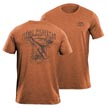 Flying Fisherman T1702OL Moondance Tee Heather Orange L