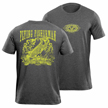 Flying Fisherman T1704DL Tarpon Outlaw Tee Deep Heather L