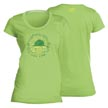 Flying Fisherman T1707LL Chalk Sail Ladies Tee Key Lime L
