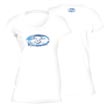 Flying Fisherman T1708WL Water Logo Ladies Tee White L