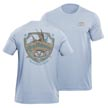 Flying Fisherman T1710BL Shield Tee Blue L